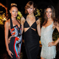 Last Night's Parties: Angels Karlie Kloss, Alessandra Ambrosio, Candice Swanepoel Fete Victoria's Secret Swimwear, Kirsten Dunst Screens 'Upside Down' & More