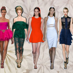 12 Perfect Party Dresses To Buy Now: Spring 2013 Color Trends