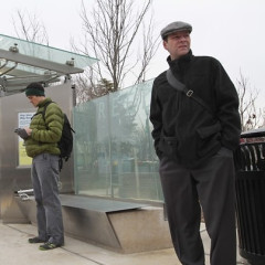 Arlington County Opens $1 Million Bus Stop