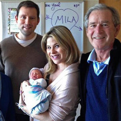 Jenna Bush Hager Welcomes Baby Mila