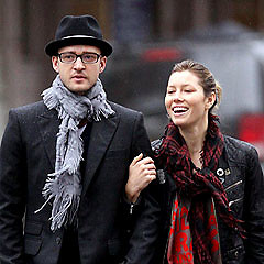 Justin Timberlake And Jessica Biel Spotted In DC