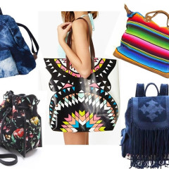 Your Guide To The Best Bags For Schlepping In Style At Coachella 2013