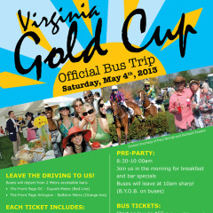 WIN Two Free Tickets To The Official Virginia Gold Cup Bus With Lindy Promo!