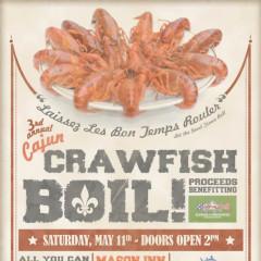 Do Not Miss: 3rd Annual Cajun Crawfish Boil This Saturday