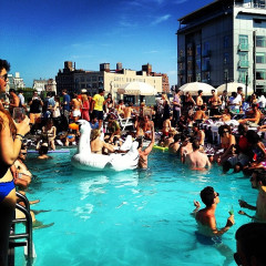 Photo Of The Day: Memorial Day At The SoHo House Pool