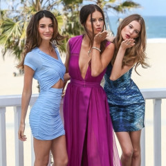 Victoria's Secret Angels Lily Aldridge, Adriana Lima, And Behati Prinsloo Reveal The 8th Annual 'What is Sexy? List' In Santa Monica