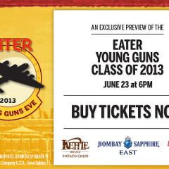 You're Invited: Eater 2013 Young Guns Eve