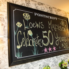 The Golden Anniversary Of The Loews Madison Hotel