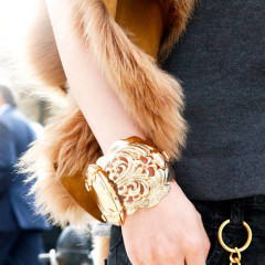Jewelery Trend Report: Gold Cuffs Served Seven Ways