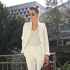 Street Style Trend: 6 Ways To Wear White On White This Summer