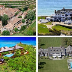 The 10 Celebrity Summer Homes You Need To See