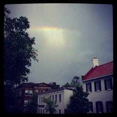 Photo Of The Week: Rainbows In Georgetown