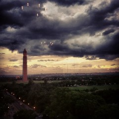 Photo Of The Week: Thunderstorms Over DC
