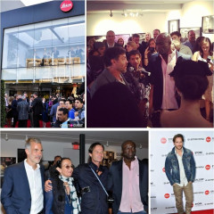 Seal, Peter Facinelli Celebrate The Leica Store & Gallery Los Angeles Grand Opening