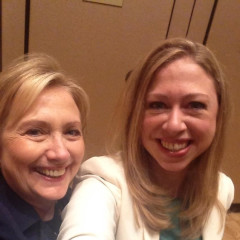 The Clinton Gals Take Selfies