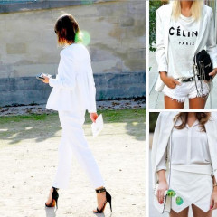 6 Ways To Try The White-On-White Trend This Summer