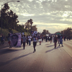 Photo Of The Day: Zimmerman Protesters Shut Down 10 Freeway