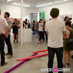 Artists Hit M+B Gallery For The Opening Reception Of 'Apparatus' Curated By Tim Barber