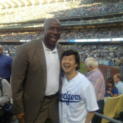 Photo Roundup: Kobe Bryant, Jay-Z, Jack Nicholson & More Hit The Dodgers Vs. Yankees Games