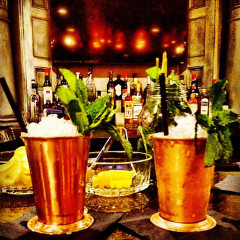 Photo Of The Week: Mint Juleps At Teddy And The Bully Bar