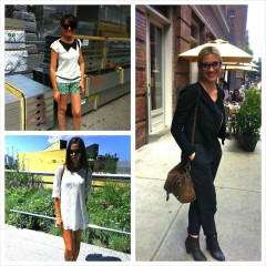 NYC Street Style: Mondays In The Meatpacking District