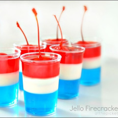 10 Recipes For 4th of July Food In Red, White & Blue