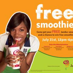 Celebrate #FreeSmoothieDayDC At Jamba Juice TODAY!