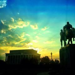 Photo Of The Week: Sunrise From Memorial Bridge