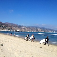 Summer Photo Of The Day: Surf's Up, Malibu