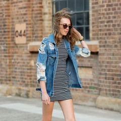 5 Ways To Wear Your Favorite Summer Denim In Fall