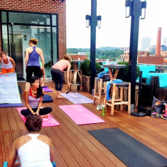Fitness Class Review: Sun.Stretch.Sip Yoga At The Graham
