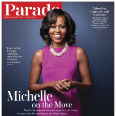 Michelle Obama On Parade Magazine