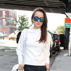 Fashion Week Street Style: Day 5 At The Alice + Olivia Presentation