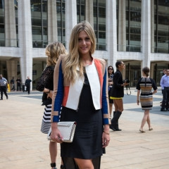 Fashion Week Street Style: More Looks From Day One At Lincoln Center
