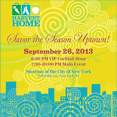You're Invited: Harvest Home presents Savor The Season Uptown