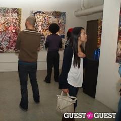 Inside Artist Eddie Rehm's 'Rehming Out LA' Opening Reception