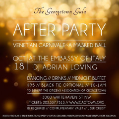 You're Invited: The Georgetown Gala After Party