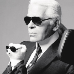Professor Karl Lagerfield? Sign Us Up!