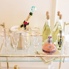 How To: Create And Stylize The Perfect Bar Cart