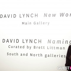 Inside David Lynch's 'Naming' Solo Art Show Opening Reception