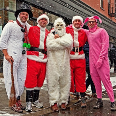 Santacon 2013 Instagram Round Up: NYC Is Getting Coal For Christmas