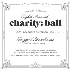 You're Invited: Charity: Water's 8th Annual Charity: Ball