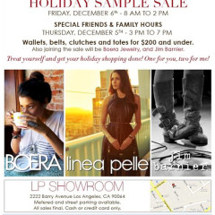 Your Guide To L.A.'s Best Holiday Sample Sales This Weekend