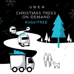 Get Your Christmas Tree From Uber!