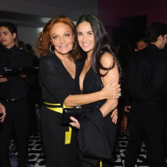 Diane Von Furstenberg Celebrates 40 Years Of The Wrap Dress With Gwyneth Paltrow, Ashley Olsen & More