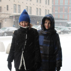 NYC Street Style: New Yorkers Brave Winter Storm Janus
