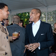 2014 Pre-Grammy Parties Roundup: Jay-Z, Rihanna Attend Roc Nation's Brunch, Lorde, Pharrell, Miley Cyrus Hit The Annual Clive Davis Bash & More