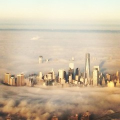 NYC Photo Of The Day: Fog Sweeps The City