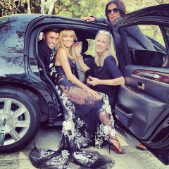 Instagram Behind-The-Scenes: Stars Getting Glam For The 2014 Golden Globes