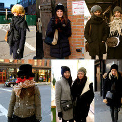 NYC Street Style: New Yorkers Brave The Polar Vortex